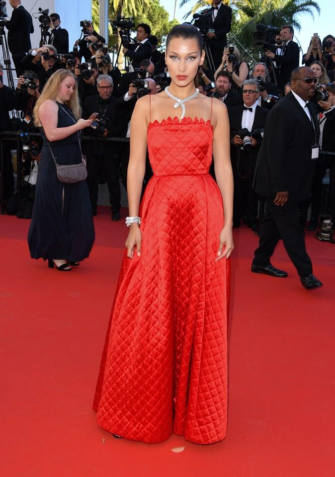 Bella Hadid in Dior
