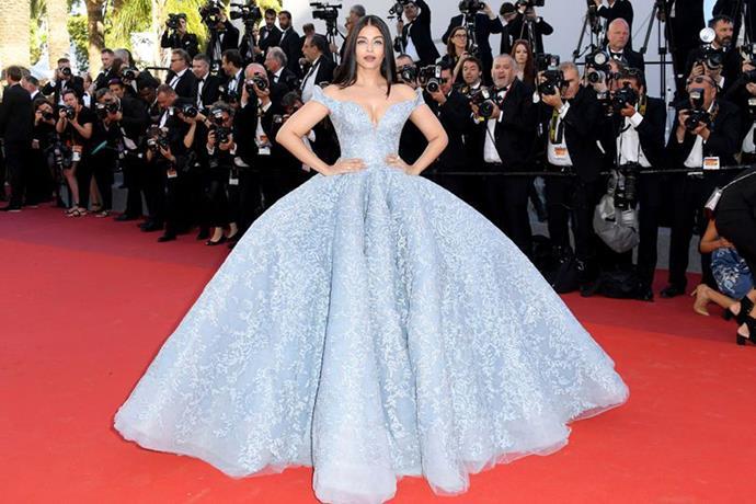 Aishwarya Rai Bachcha in a Michael Cinco gown