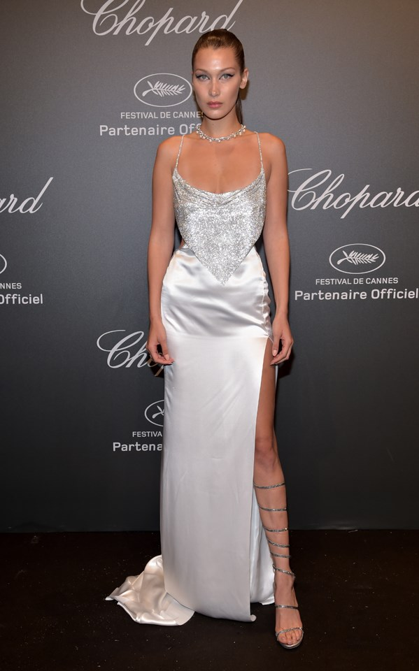 Bella Hadid in Roberto Cavalli