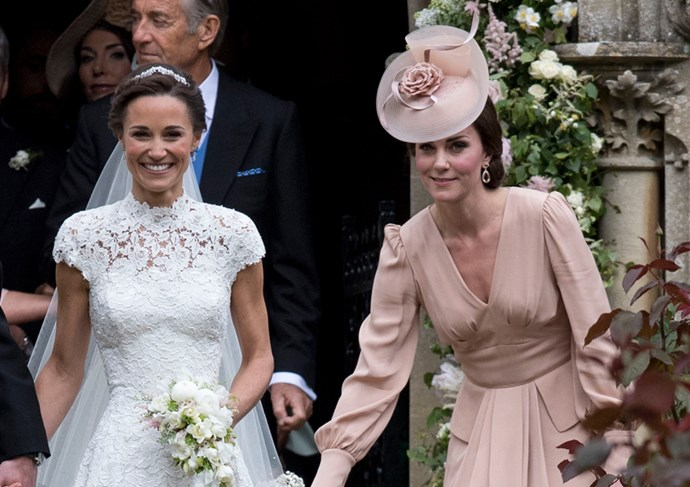 Middleton's dress was designed to offset her sister's look.