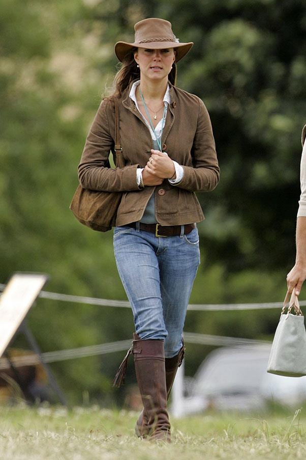 <strong>At the Festival of British Eventing, 2005 </strong>