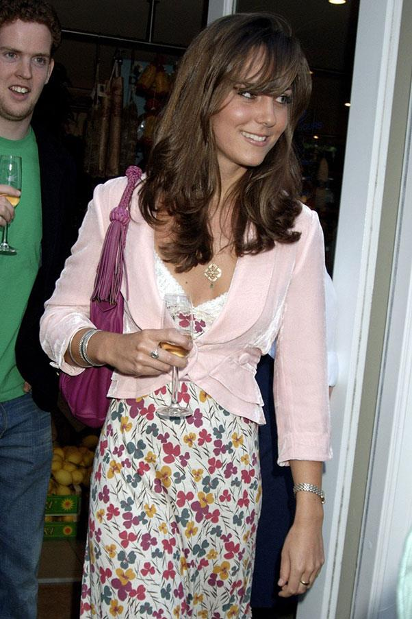 <strong>At a store opening party, 2007</strong>