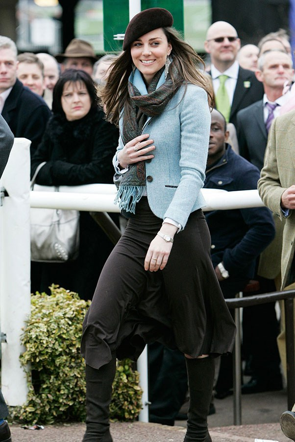 <strong>At the Cheltenham races, 2007</strong>