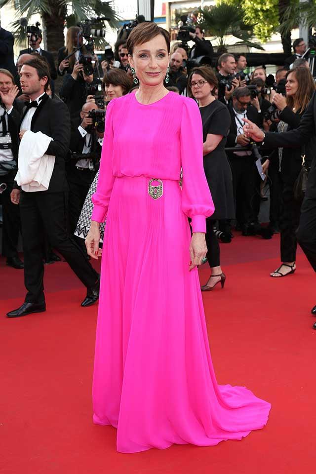 Kristen Scott Thomas in Schiaparelli Couture