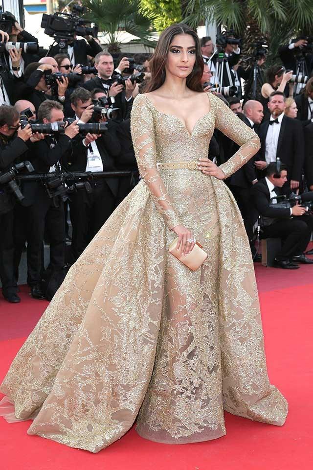 Sonam Kapoor in Elie Saab Couture