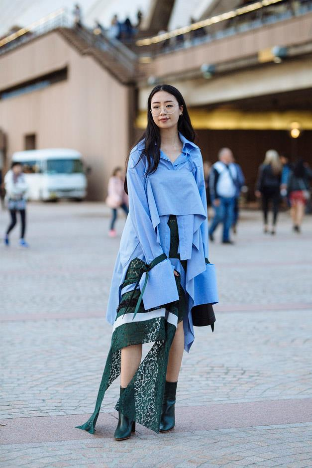 <strong>Deconstructed Shirting: </strong> <br><br> Oversized cuffs, asymmetrical collars and tiered hems turned this wardrobe staple into a hero item.