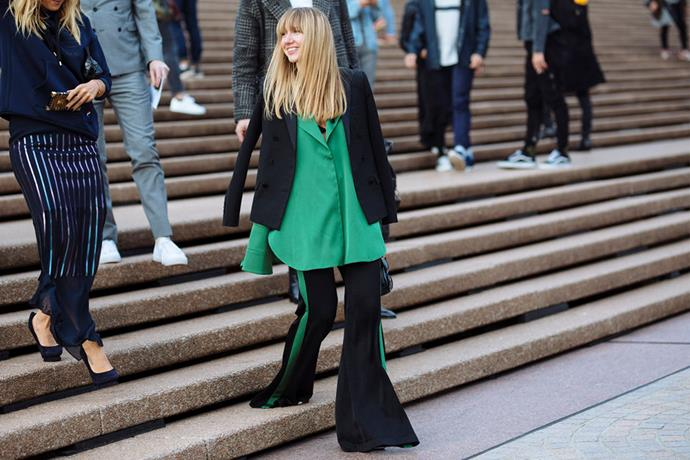 <strong>Emerald: </strong> <br><br> The colour du jour? Green. But not just any shade of green. It was a very specific shade of emerald that took the front row's fancy this year.
