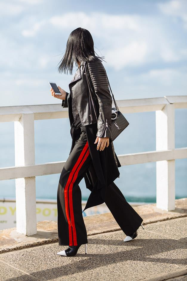 <strong>Side-Striped Tracksuits: </strong> <br><br>
