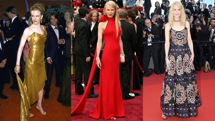 We're taking a look at Nicole Kidman's amazing red carpet track record from start to finish.
