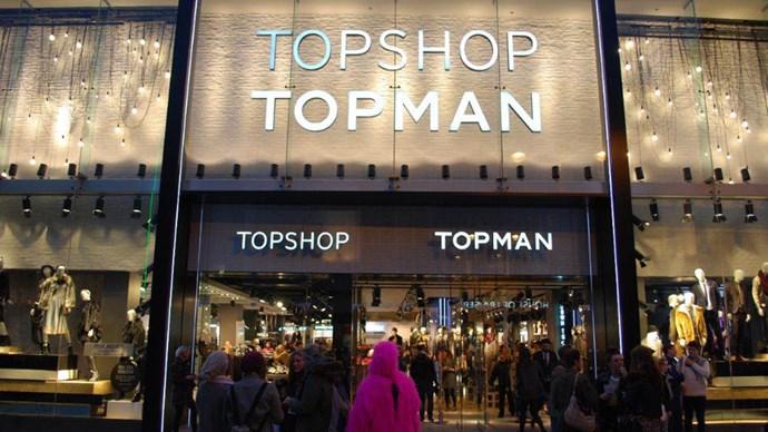 Topshop Australia store
