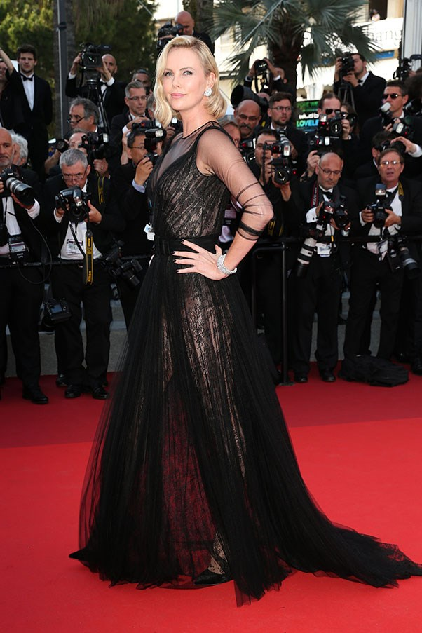 Charlize Theron in Dior.