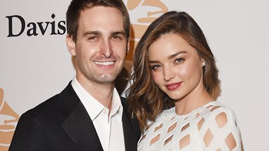 Miranda Kerr Serenaded Evan Spiegel With A '90s Classic At Their Wedding