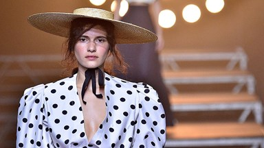 This Is The Polka-Dot Blouse You're Seeing All Over Instagram