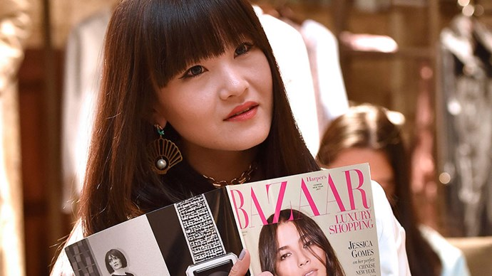 Blogger Icy Ling was a guest at Bazaar's Luxury Shopping Issue Launch