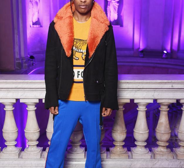 A$AP Rocky.