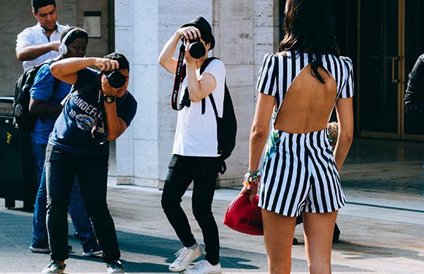 Fashion bloggers and influencers