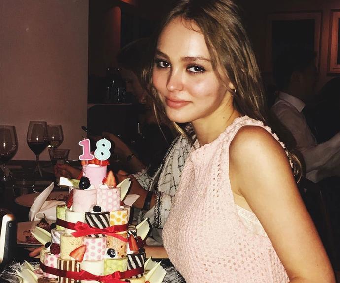 Lily-Rose Depp 18th Birthday