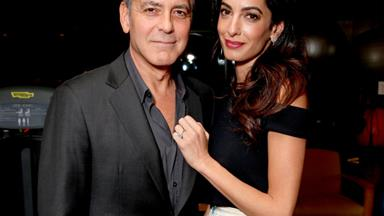 "Amal Clooney Is Already A ""Magnificent Mother"" According To Her Father-In-Law"