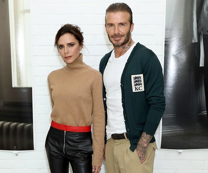 Victoria and David Beckham.