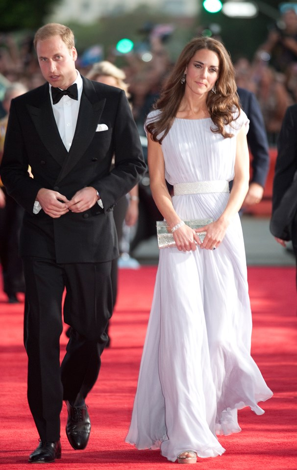 Middleton was the picture of elegance in this Alexander McQueen gown, which she wore to attend the 2011 BAFTA Brits To Watch Event.