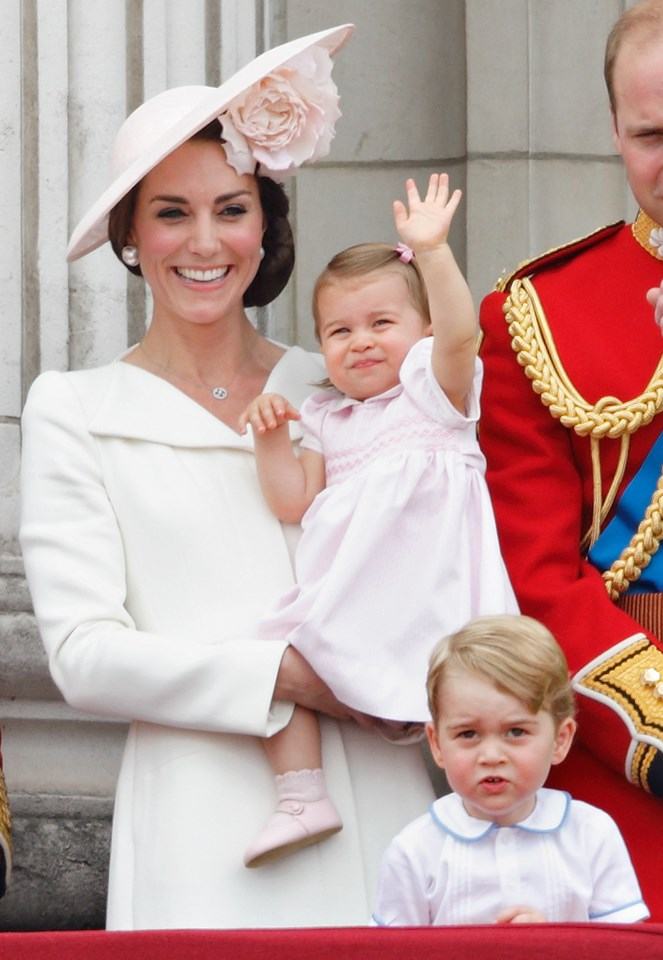 The Duchess opted for Alexander McQueen again at Trooping The Colour, 2016.