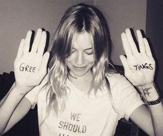 Sienna Miller joins Instagram