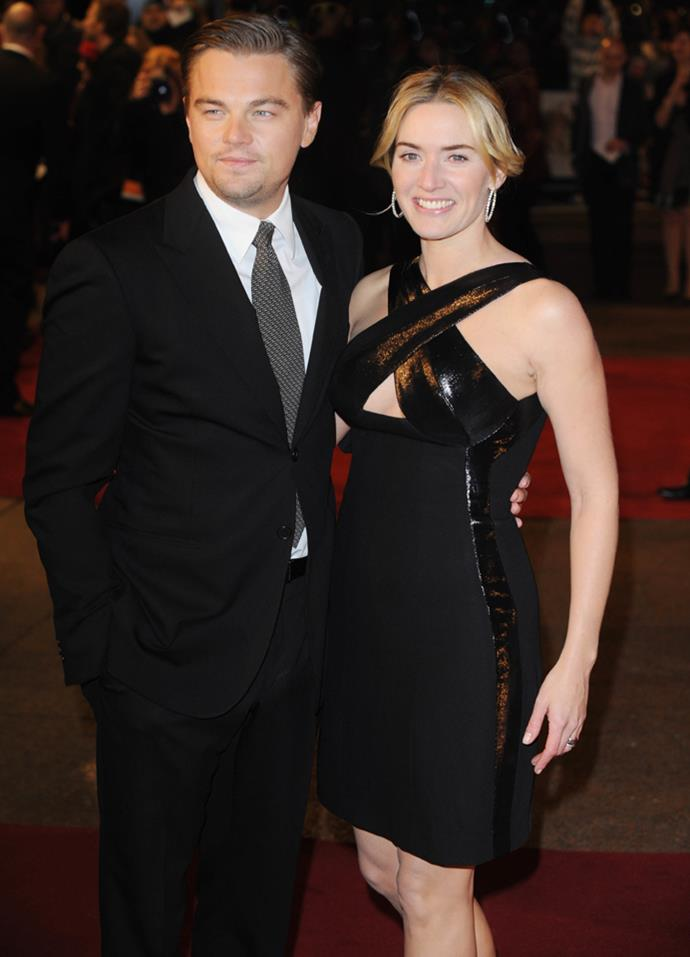 "When Winslet won an award for her work in *Revolutionary Road* in 2009, she gave a heartfelt speech thanking DiCaprio: ""Leo, I'm so happy I can stand here and tell you how much I love you and how much I've loved you for 13 years. I love you with all my heart, I really do."""