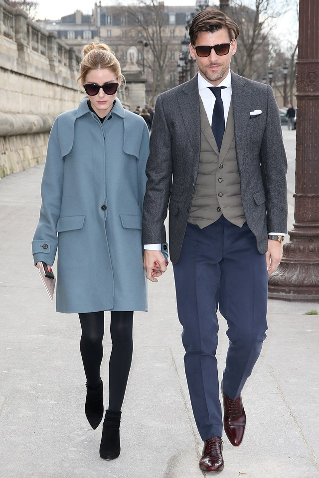 <strong>Olivia Palermo and Johannes Huebl </strong><br> There's not a more chic couple on the planet. These two have not only perfected the art of red carpet dressing, they're also chameleons when it comes to the street.