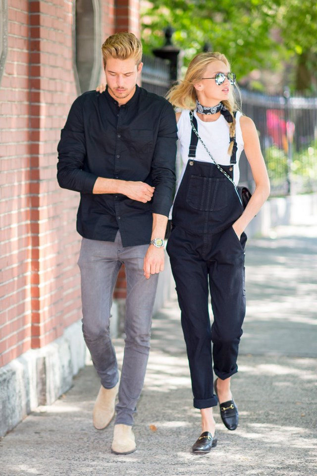 <strong>Romee Strijd and Laurens van Leeuwen</strong><br> From Coachella to New York, this good-looking pair never set a foot wrong when it comes to their couple style.