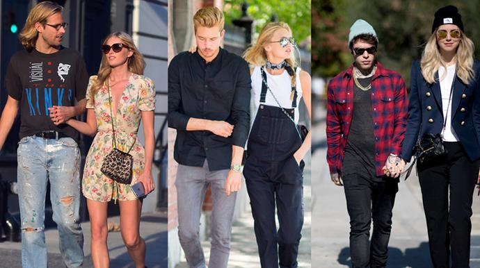 BAZAAR rounds up the most fashionable celebrity street style couples.