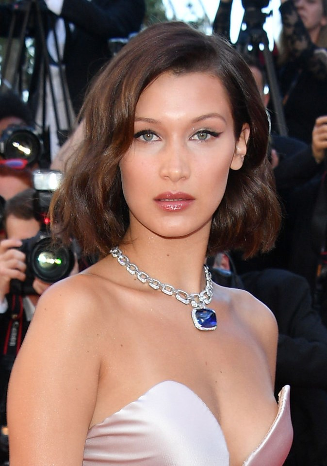 <strong>Bella Hadid requests to have her makeup applied with her head upside down:</strong> The model claims it supposedly creates a more 'natural' finish, but we imagine it's more to do with the rush of blood to her head.