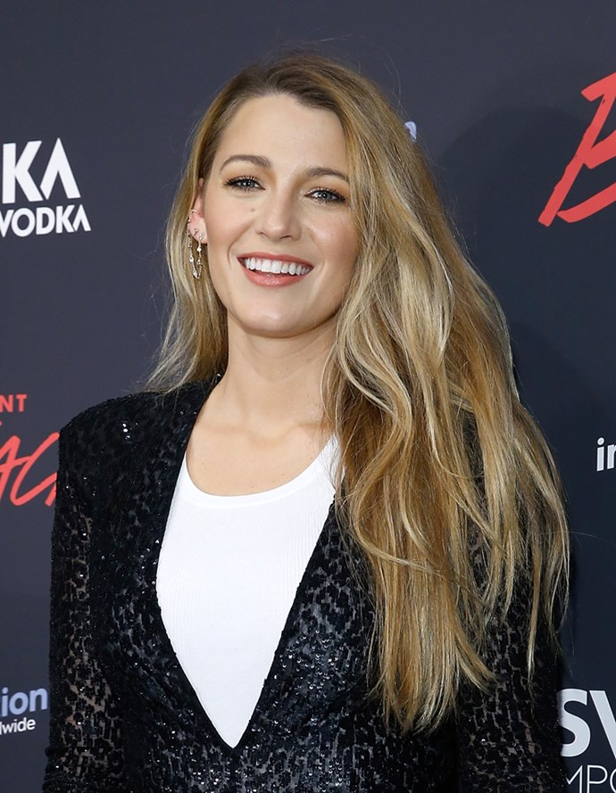"<strong>Blake Lively uses humble condiments to get shiny hair:</strong> ""My mum taught me this really great beauty tip. She used to put oil or mayonnaise on the bottom half of her hair before she would shower. That way, when she would shampoo, the soap wouldn't strip the bottom of the hair and dry it out, making it brittle,"" she told *Byrdie*."