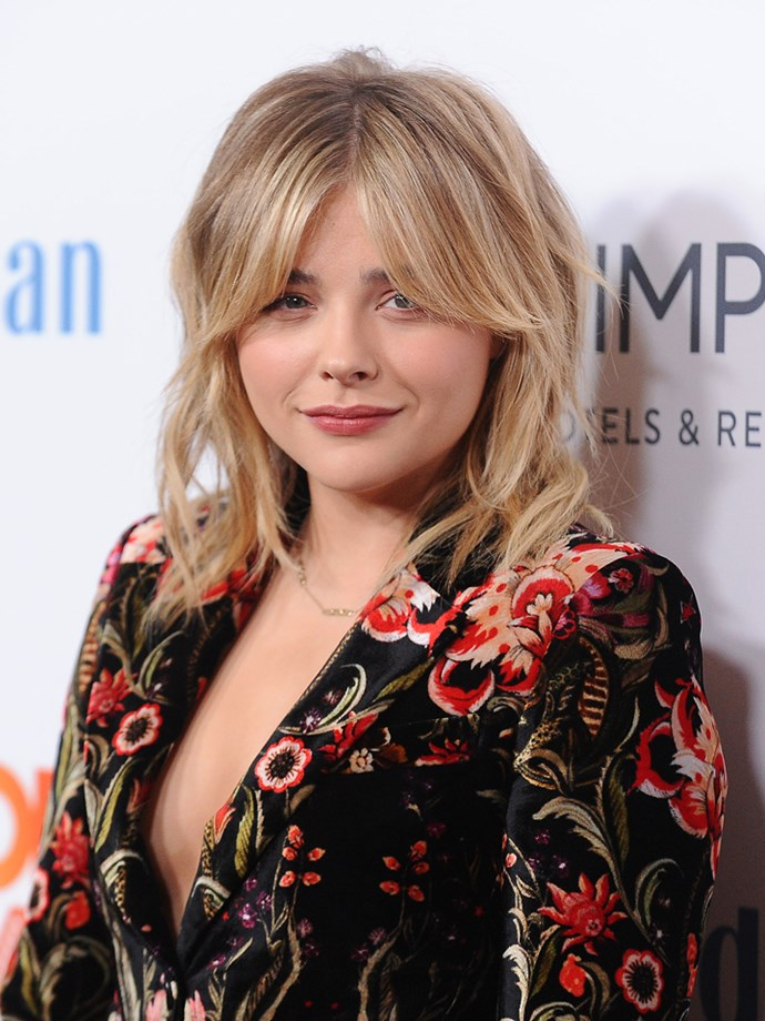 "<strong>Chloe Moretz uses olive oil to combat acne:</strong> ""I wash my face with olive oil. I swear my skin is so much clearer because of it,"" she told *Allure*."