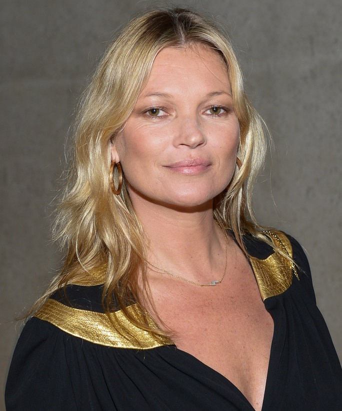 "<strong>Kate Moss plunges her face into icy cold water of a morning:</strong> ""It's so good. It definitely works, because all the blood comes to the surface,"" she said."