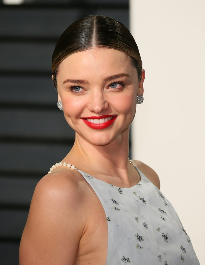 "<strong>Miranda Kerr swears by leech facials:</strong> ""I've had a leech facial,"" the supermodel confessed at a recent *Goop* conference. ""I kept the leeches, they're in my koi pond. You're not allowed to reuse them and if you don't take them home then she kills them and I didn't like that idea."""