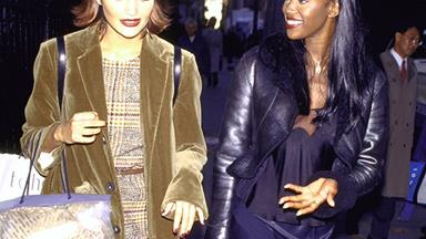 This Is How Supermodels Did 'Off-Duty' In The '90s