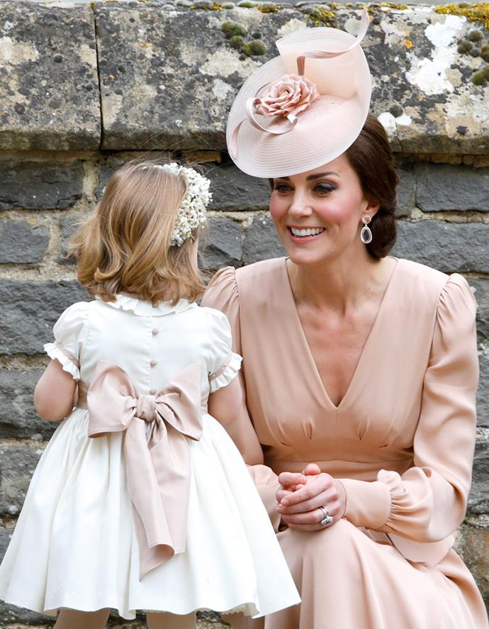 Kate wore a particularly special set of earrings by Kiki McDonough to Pippa Middleton's wedding last month.