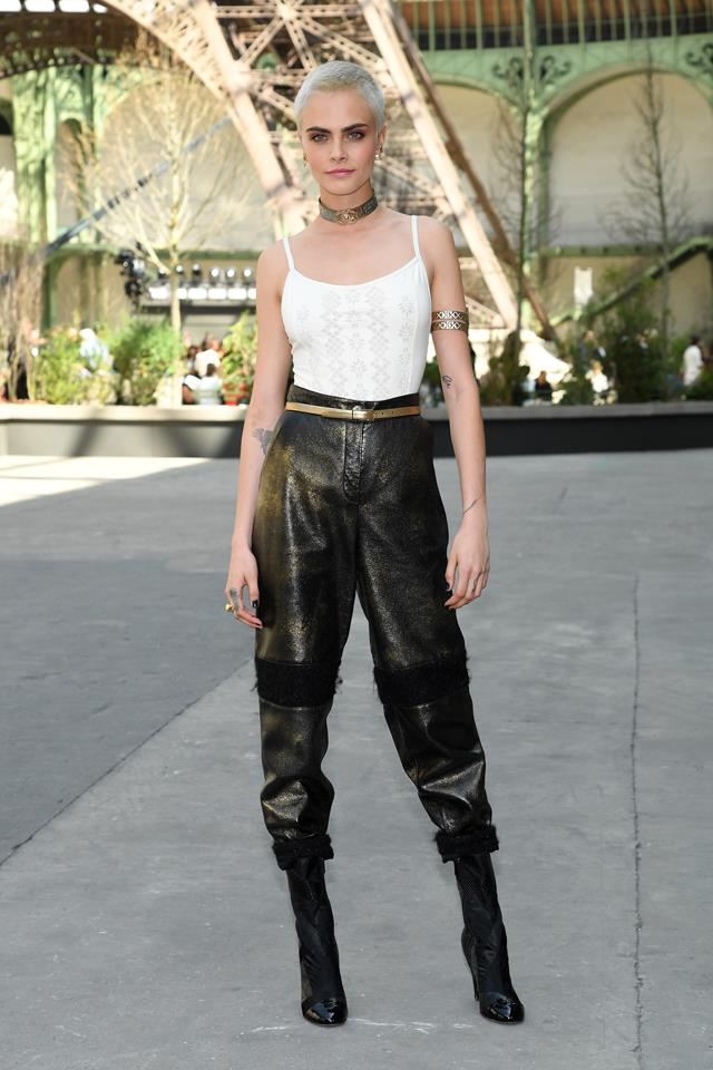 Cara Delevingne at Chanel