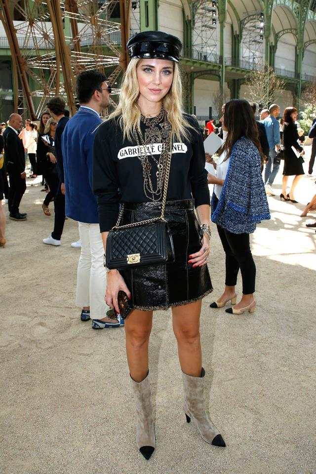 Chiara Ferragni at Chanel