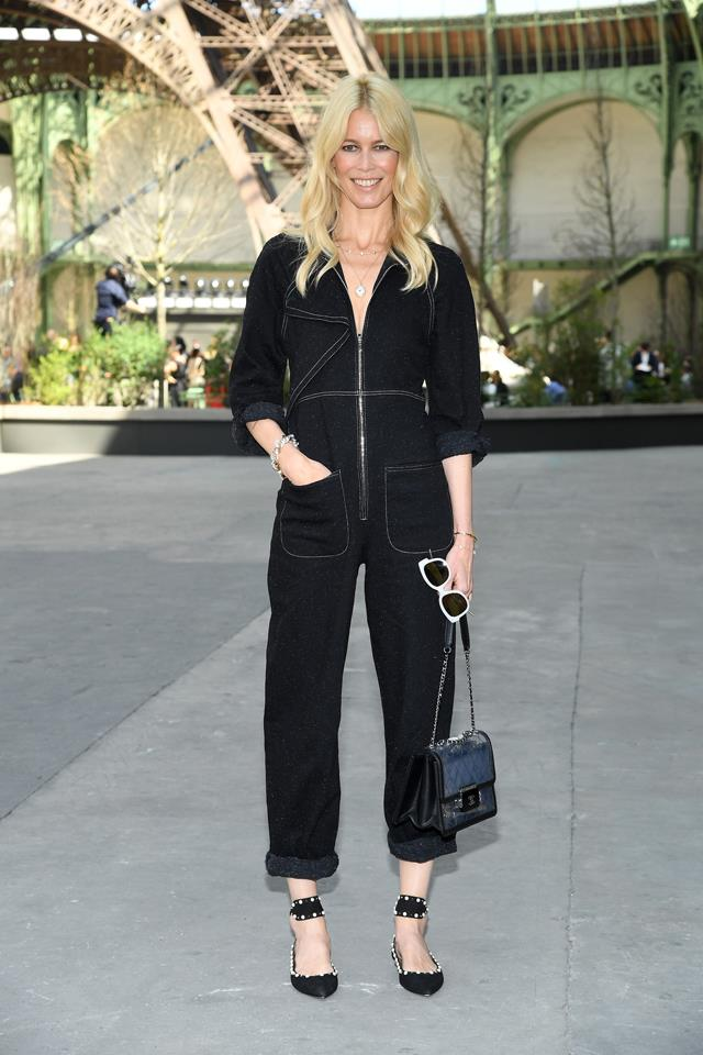 Claudia Schiffer at Chanel