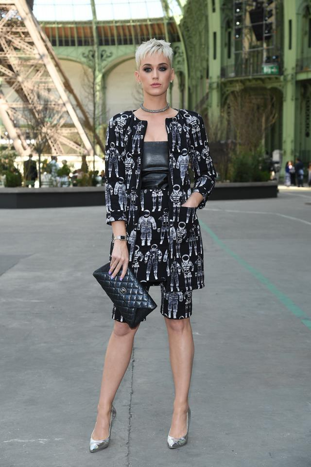 Katy Perry at Chanel