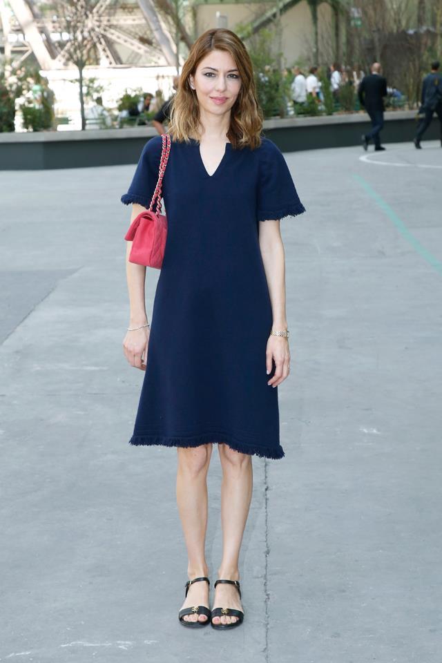 Sofia Coppola at Chanel