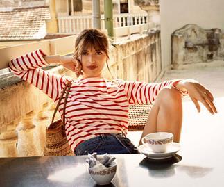 Jeanne Damas Parisian Style on Lock