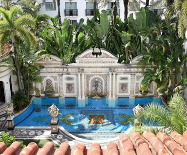 Inside Gianni Versace's Extravagant Miami Mansion