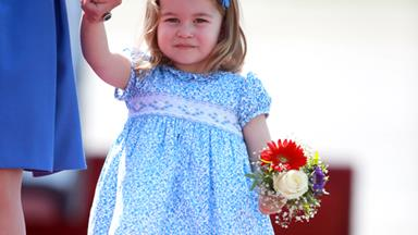 Princess Charlotte's Tiny Curtsey Is The Cutest Thing You'll See Today