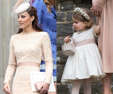 All The Times Kate Middleton And Princess Charlotte Were Royal Style Twins