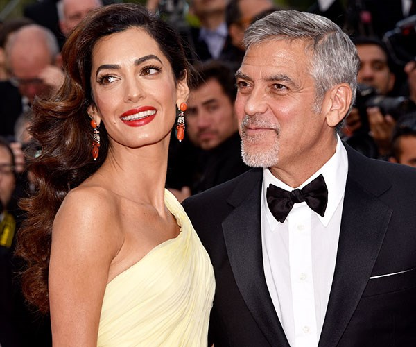 George Amal Clooney To Prosecute Over Twins Photos