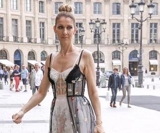 celine dion fashion comeback