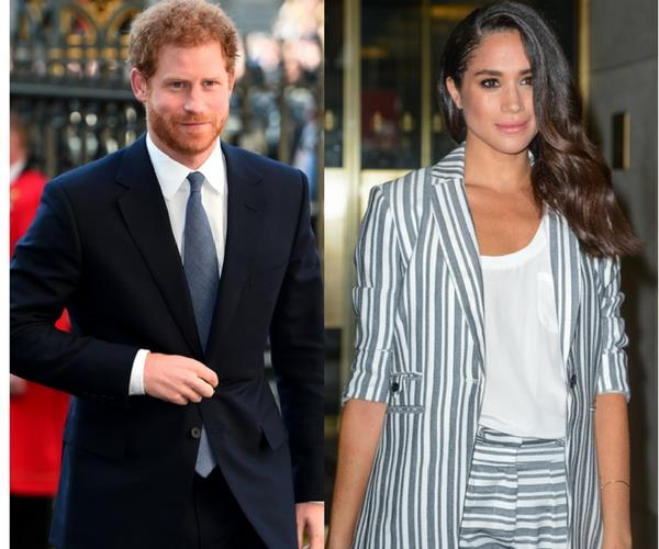 Meghan Markle Prince Harry Birthday Africa