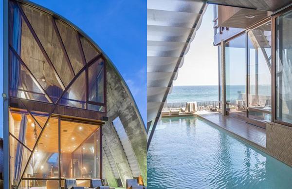 Edward Norton's New Malibu Mansion Is An Architectural Masterpiece